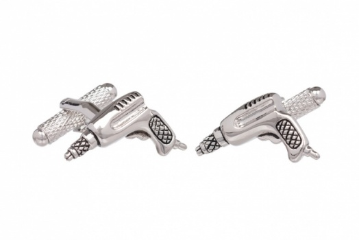 Electric Drill Cufflinks